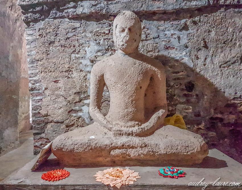 Statue de Bouddha - Polonnaruwa - voyage au Sri Lanka