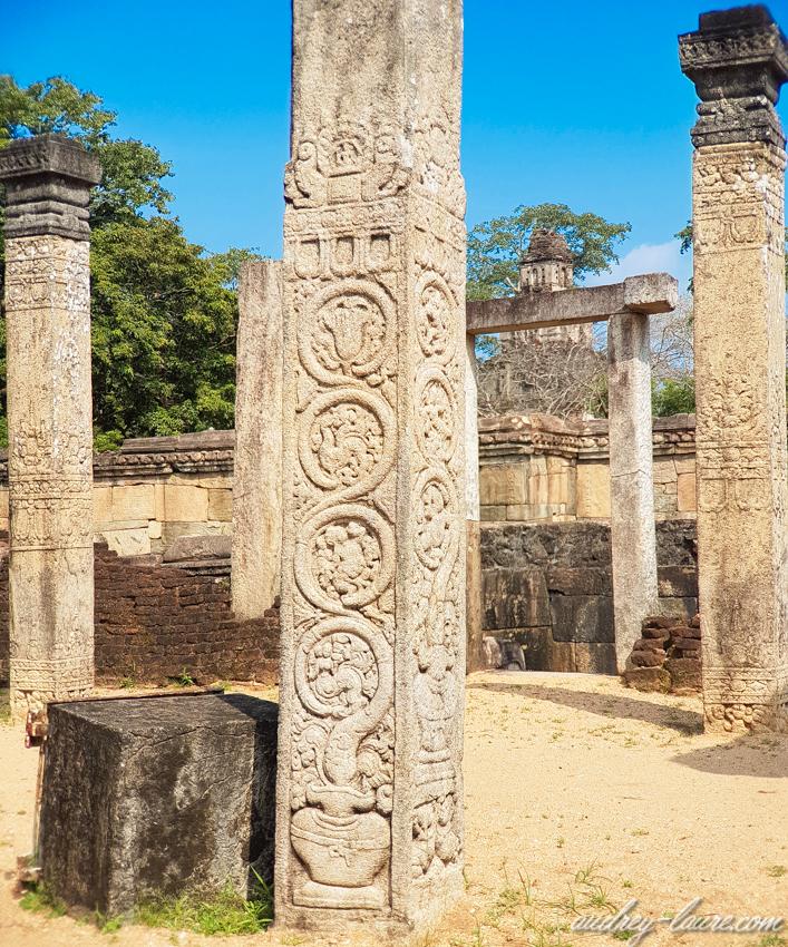 Polonnaruwa - location de vélo - voyage au Sri Lanka