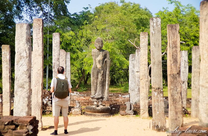 Polonnaruwa -Bouddha - voyage au Sri Lanka
