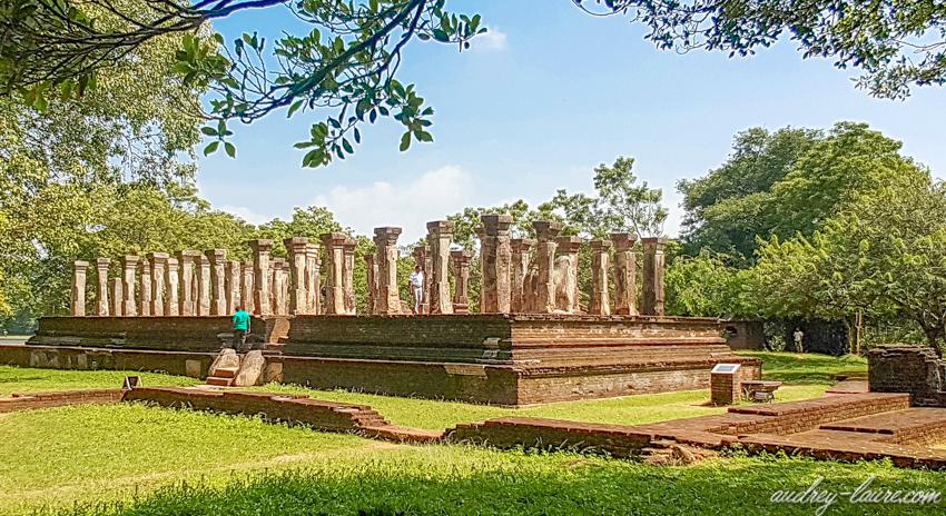 ruines de Polonnaruwa - voyage au Sri Lanka