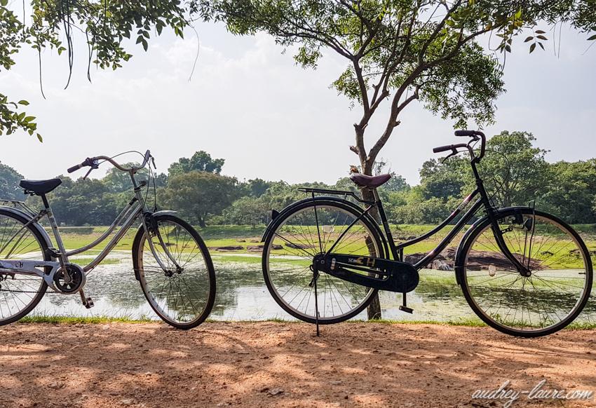 Polonnaruwa en vélo - voyage au Sri Lanka
