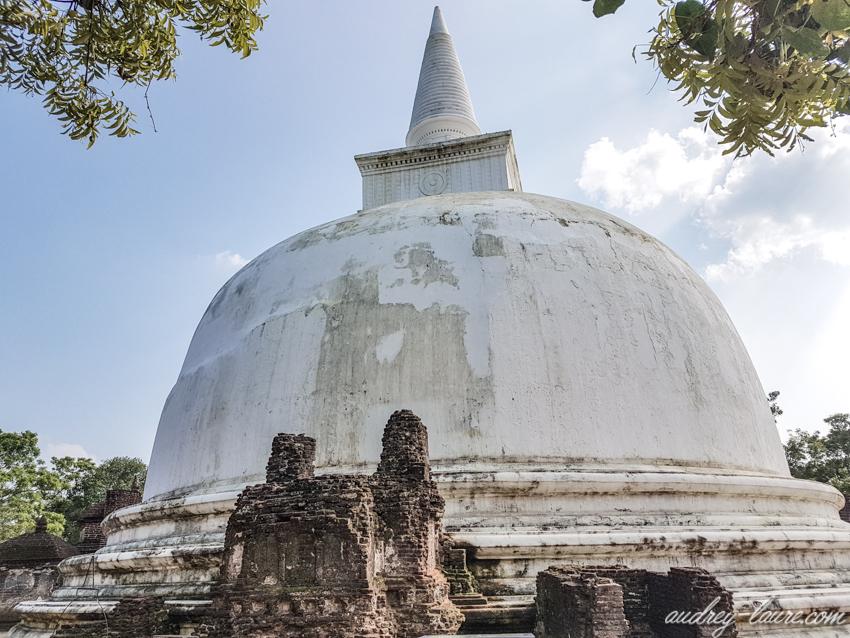 dagoba de Kiri Vihara - Polonnaruwa -ruines