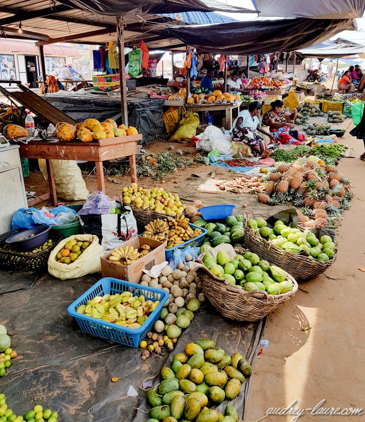 Sri Lanka - marché de fruits et légumes