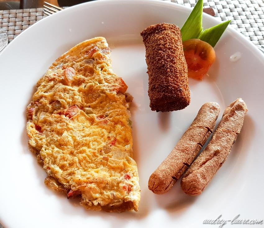Sri Lanka - petit-déjeuner Sri Lankais typique