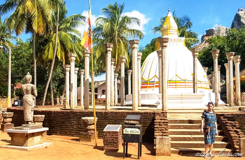 Visite de Mihintale - voyage au Sri Lanka
