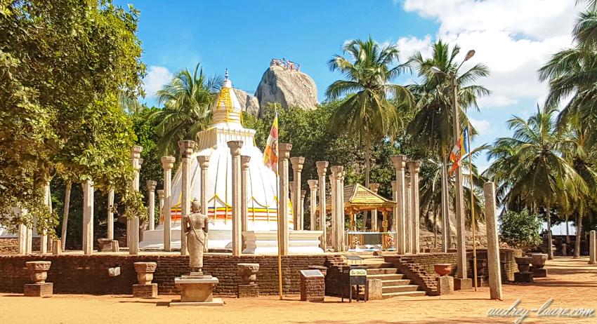Mihintale - tourisme - dagoba Ambasthala - circuit au Sri Lanka