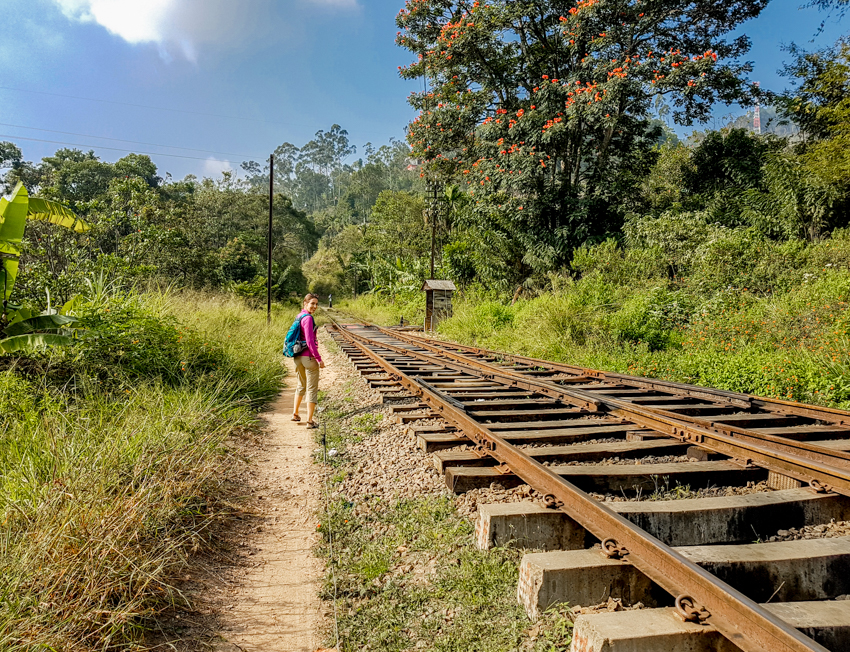 Sri Lanka - voie ferrée
