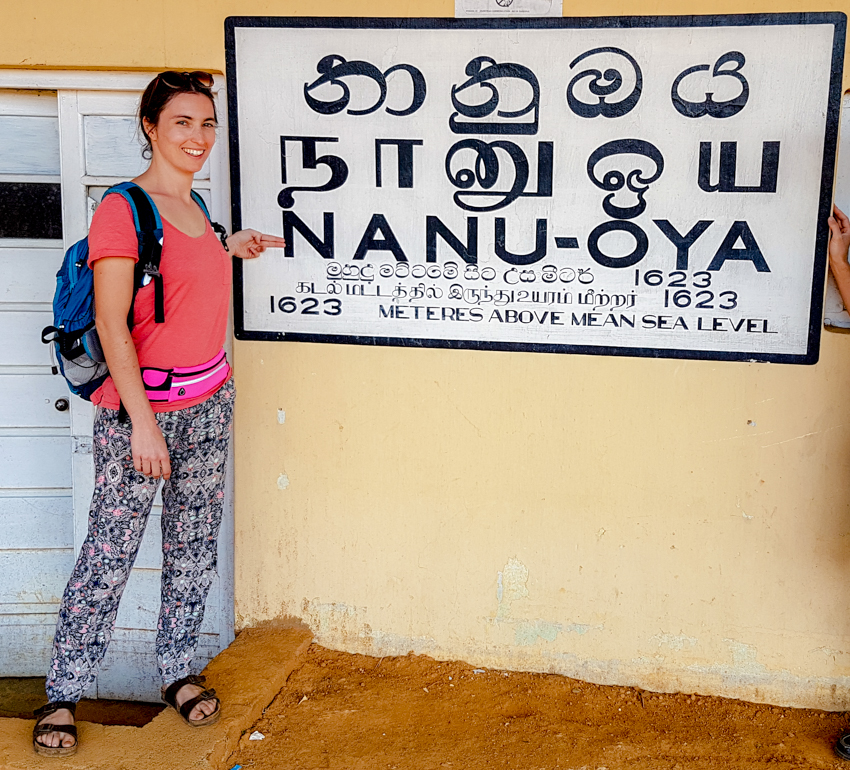 Sri Lanka - voyage - train - gare de Nanu-Oya
