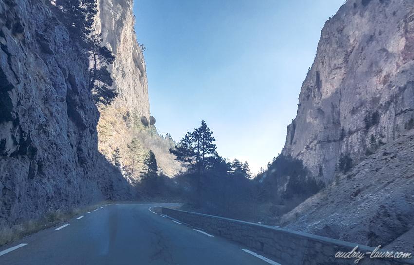 Route de montagne - Isère