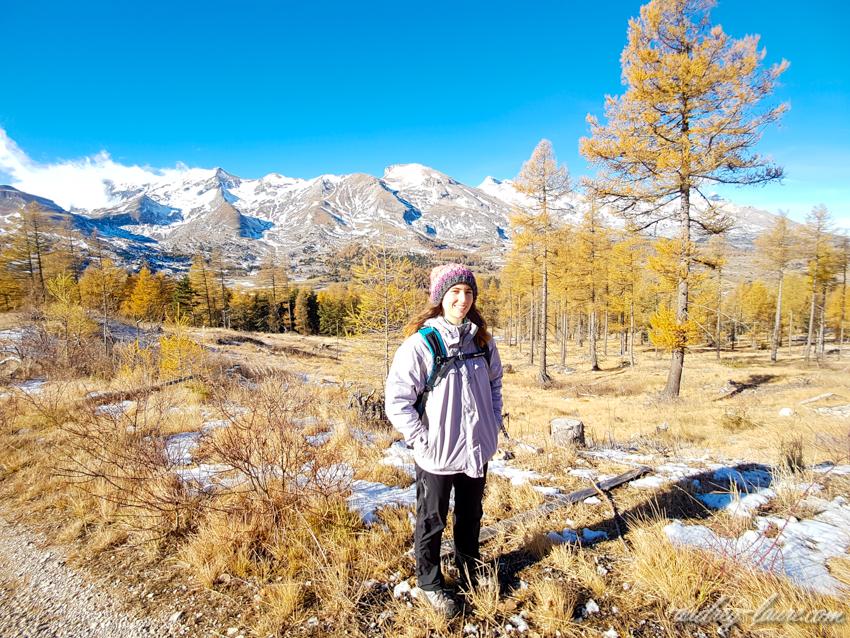 Dévoluy - randonnée en montagne - blogueuse Isère