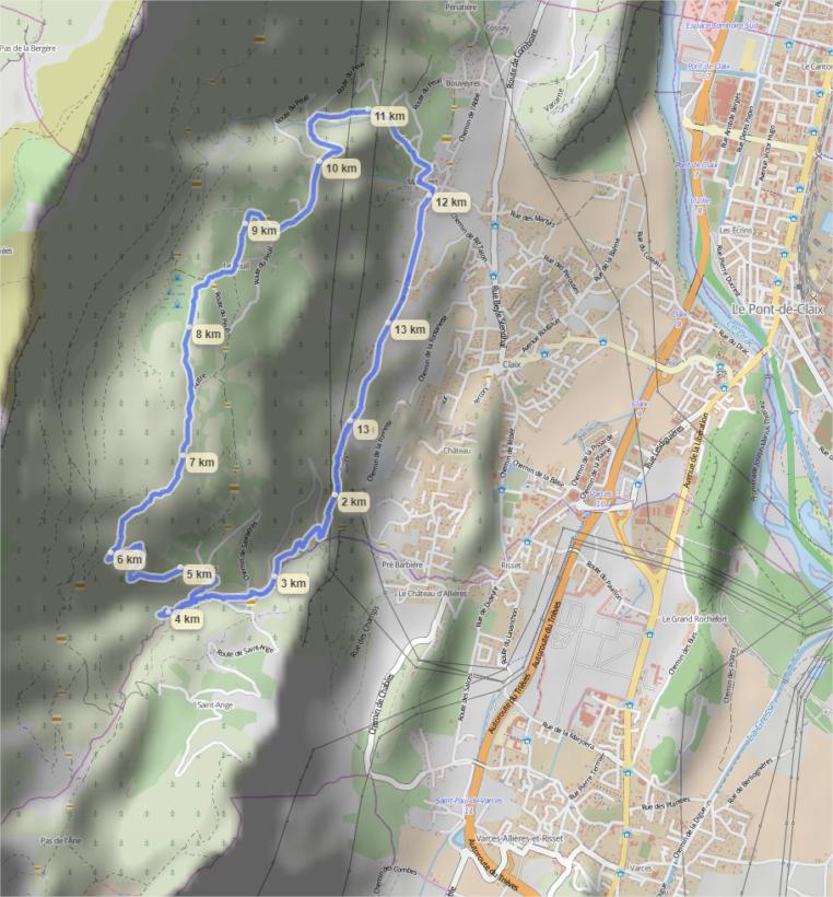Itinéraire GPS - Tourbière du Peuil