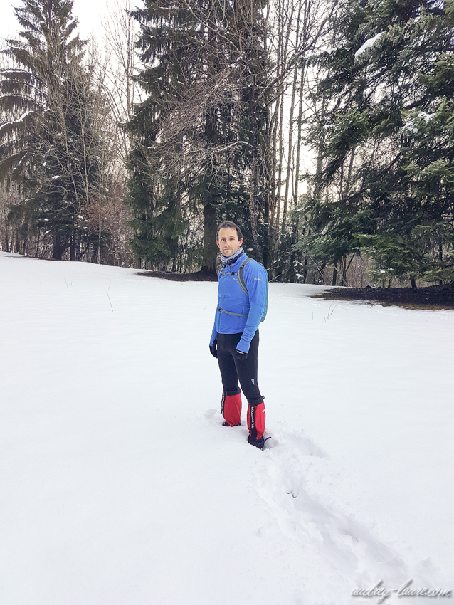 Le Peuil en hiver - Claix - Tourbière - Espace naturel sensible de l'Isère