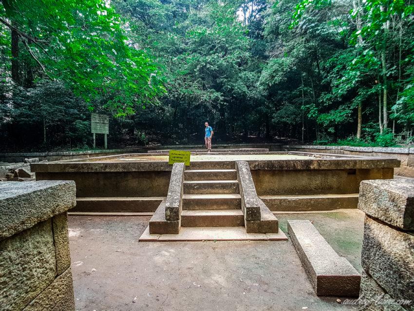 Vestiges de Ritigala - Sri Lanka