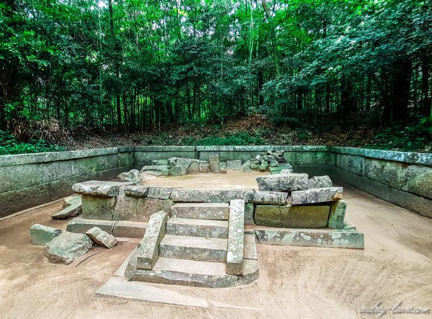 Ruines de Ritigala - Sri Lanka