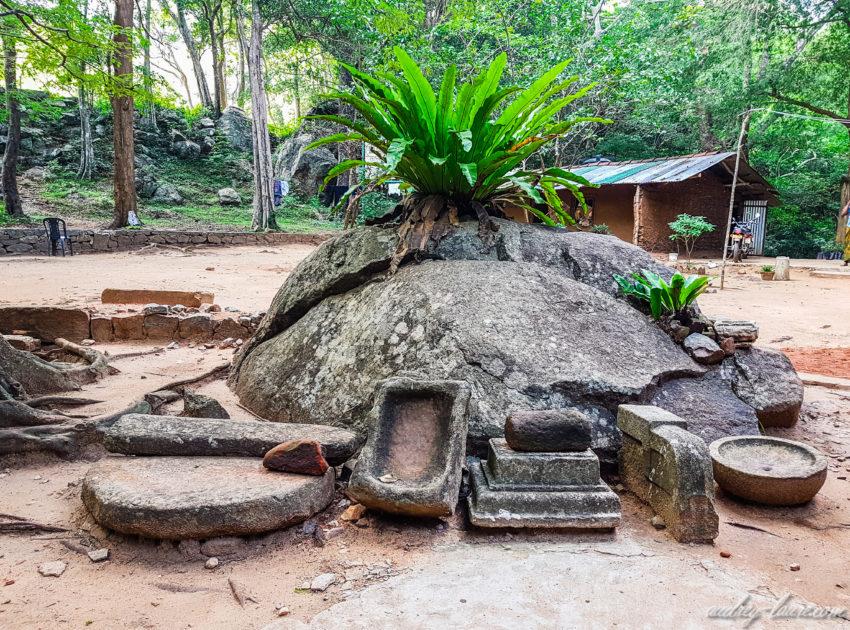 vestiges de Ritigala - tourisme au Sri Lanka