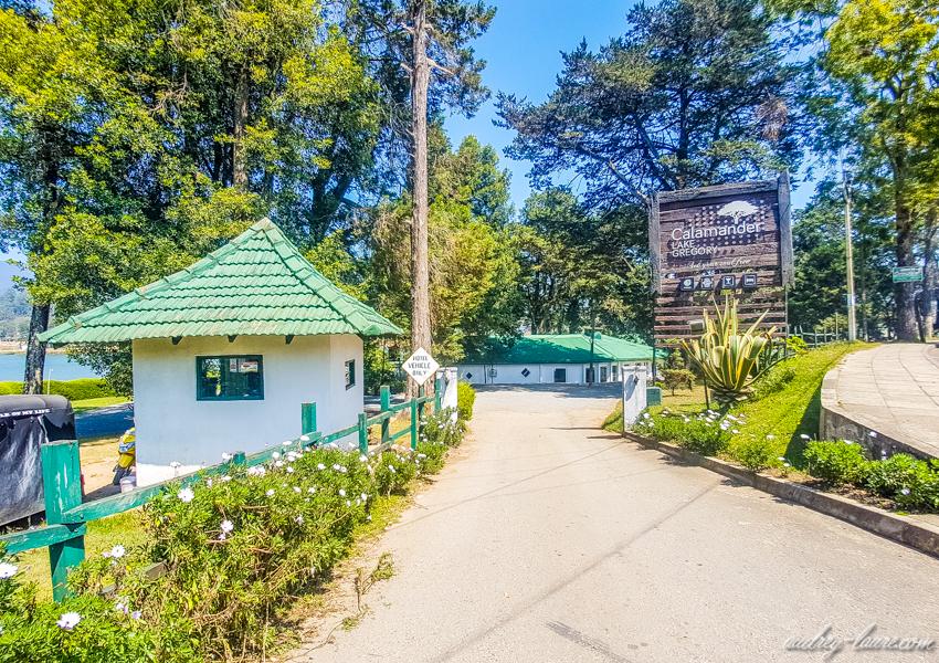 Lac Grégory - voyage au Sri Lanka - Nuwara Eliya