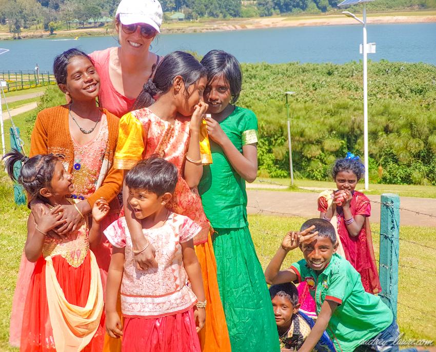 voyage au Sri Lanka - Nuwara Eliya - enfants
