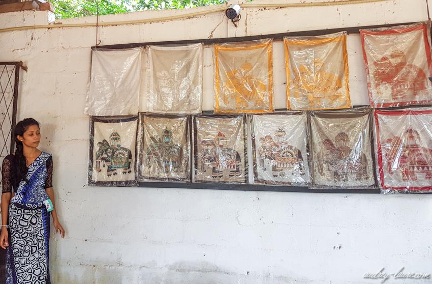 Sri-Lanka-visite-usine-tissu-batik-voyage--sur-