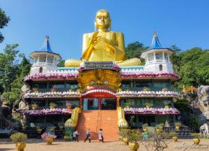 Temple-dOr-de-Dambulla-Bouddha-doré