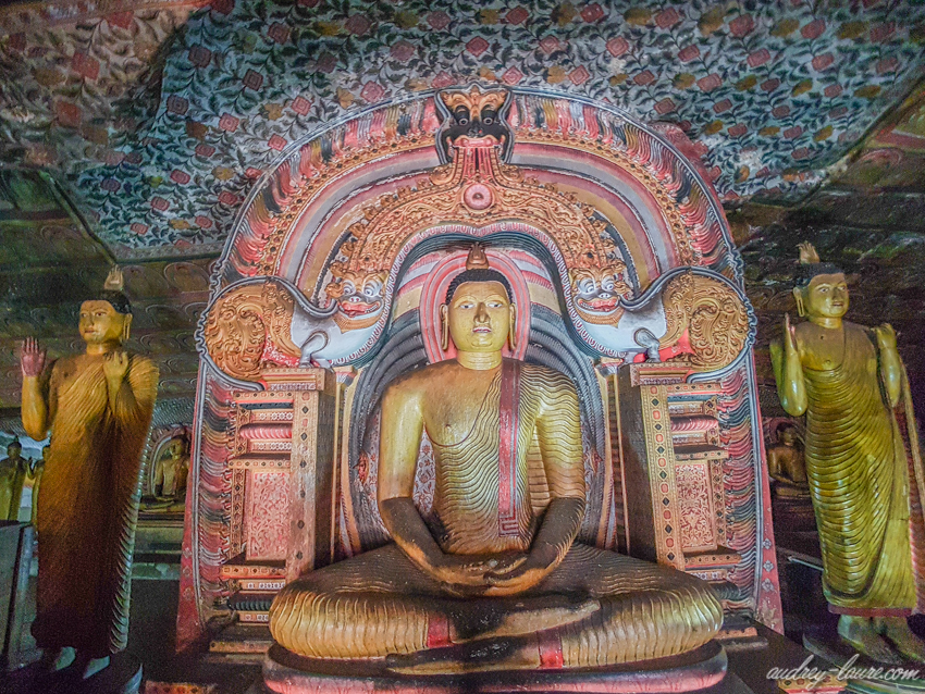 Temple d'or Dambulla