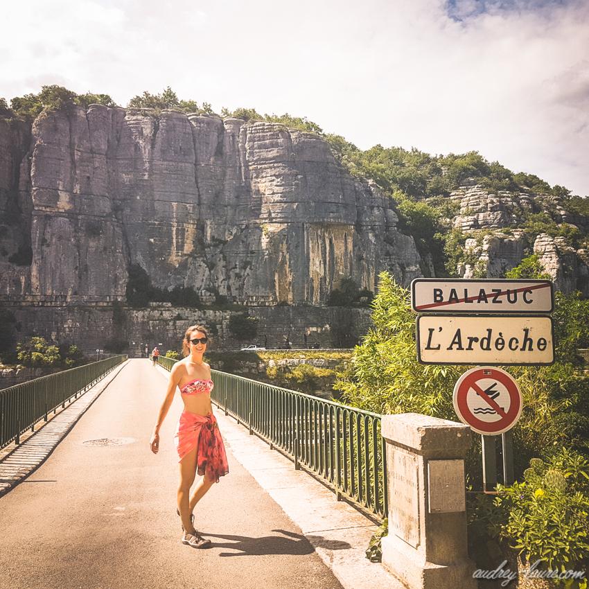 Ardèche - pont