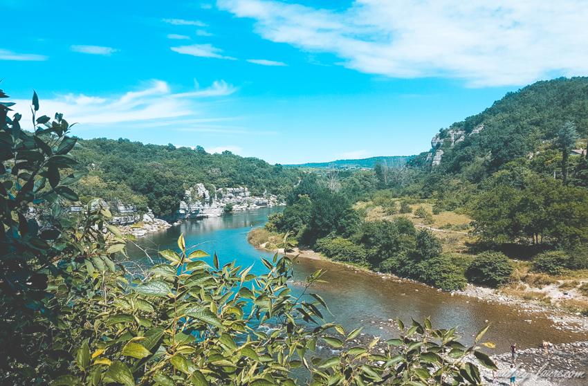Ardèche-rivière et gorges