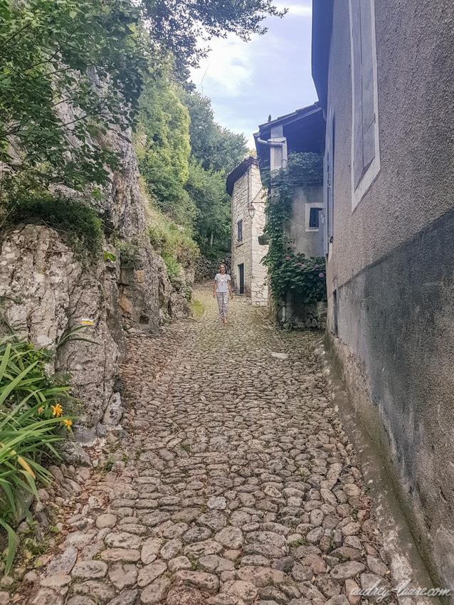 Tourisme en Ardèche - Visite du village de Labeaume -Label villages et cités de caractère - blogueuse