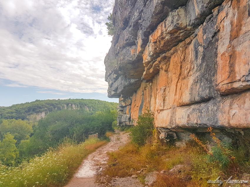 Randonnée facile en Ardèche
