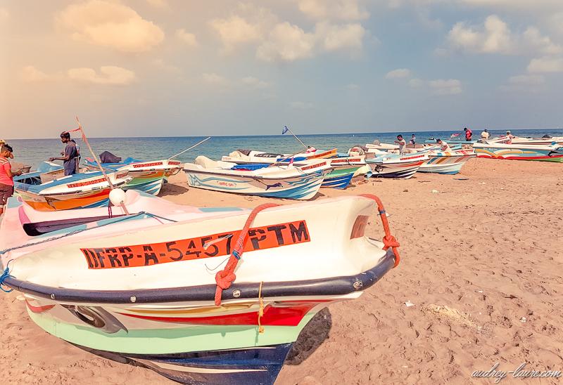 Sri Lanka - pêche en mer