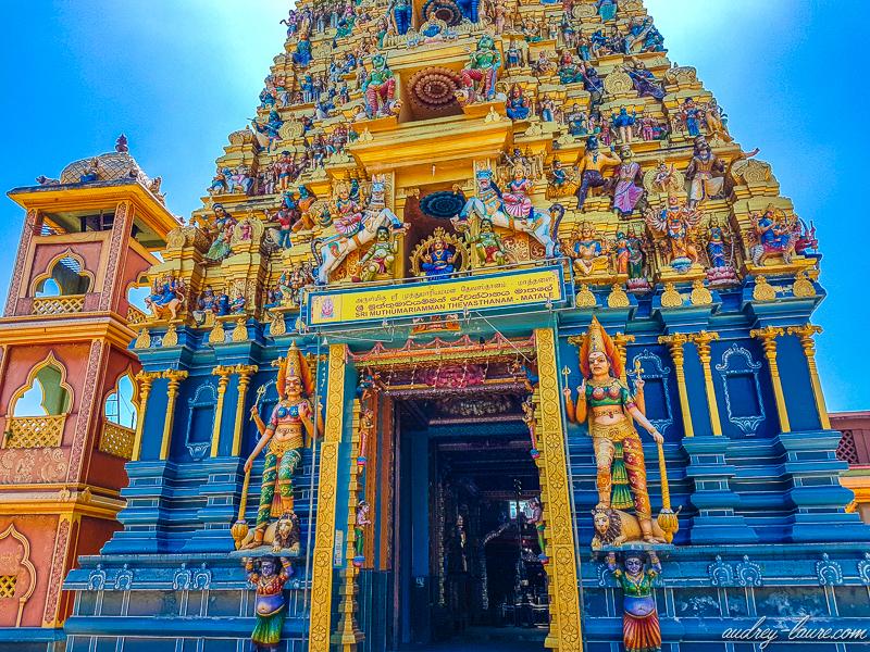 Temple de Muthumariamman - tour