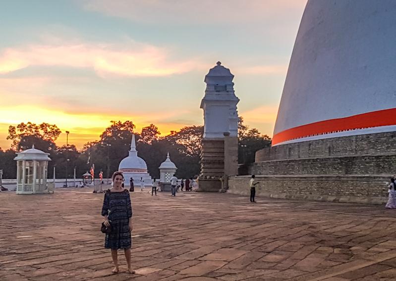 Anurâdhapura - voyage au Sri Lanka - dagoba de Ruvanvelisaya
