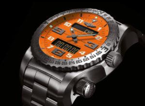 Breitling Emergency II montre-de-survie-balise-détresse